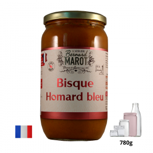 BISQUE AUTHENTIQUE au HOMARD BLEU