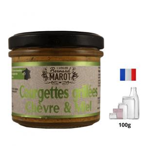 Courgettes Grillées Chèvre & Miel