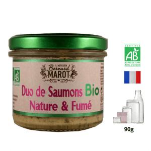 Duo de Saumons BIO Nature & Fumé