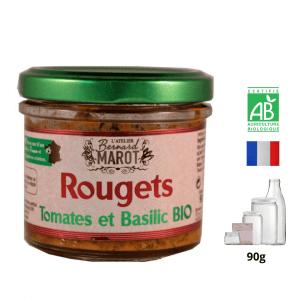 Rouget aux Tomates séchées & Basilic BIO
