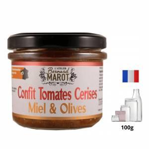 Confit de Tomates Cerises Miel & Olives