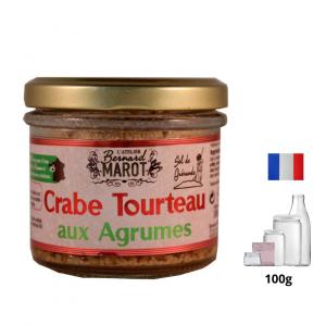 Crabe Tourteau aux Agrumes