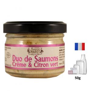 Duo de Saumons Crème & Citron Vert
