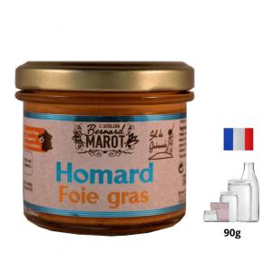 Homard au Foie Gras Sel de Guérande