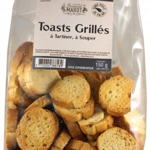 MINI TOASTS GRILLES à Toaster à Souper