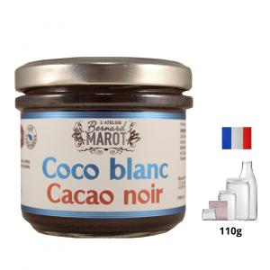 Noix de Coco Blanc au Caco Noir