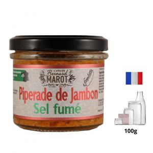 Piperade de Jambon et Sel fumé