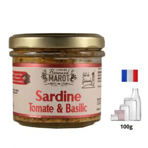 Sardine Tomate & Basilic