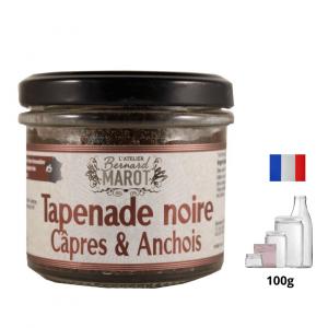 Tapenade noire Câpres & Anchois