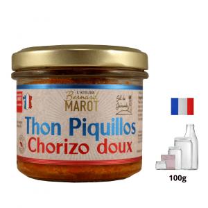 Thon Piquillos & Chorizo doux
