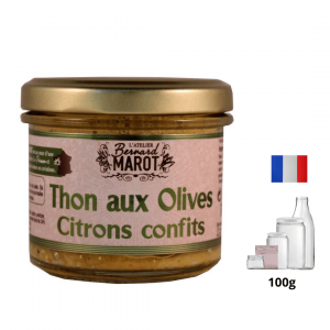 Thon aux Olives & Citrons Confits