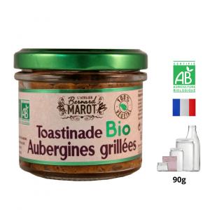 Toastinade BIO aux Aubergines
