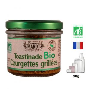 Toastinade BIO aux Courgettes Grillées