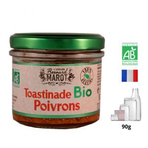 Toastinade BIO aux Poivrons