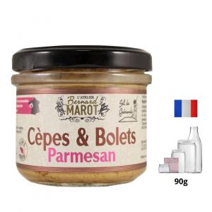 Cèpes & Bolets au Parmesan