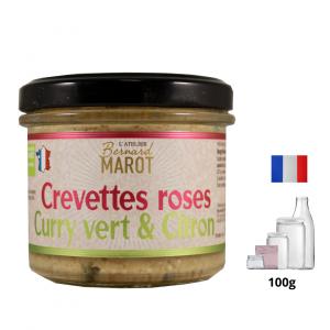 Crevettes Roses au Curry Vert & Citron