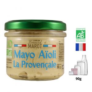 Mayonnaise Aïoli BIO «la Provençale»