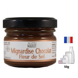 Mignardise de Chocolat à la Fleur de Sel de Guérande
