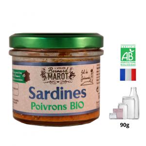 Sardines aux Poivrons BIO