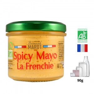 Spicy Mayonnaise BIO « la Frenchie »