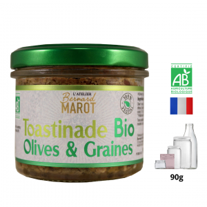 Toastinade BIO Olives & Graines